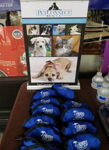 Dog adoption signs